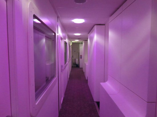 YOTELAIR London Heathrow Airport: Corridor