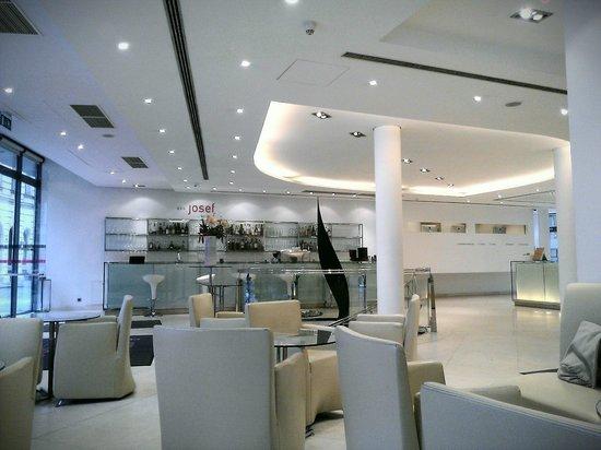 Design Hotel Josef Prague : Lounge Hotel Josef