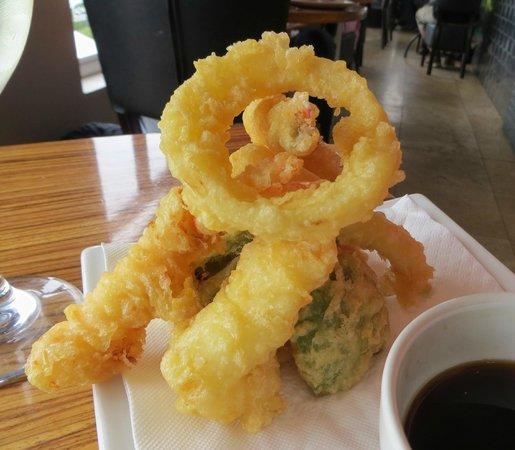 Lemon Butta Hermanus: tempura prawns
