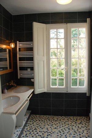 Chateau de Jalnay : salle de bains