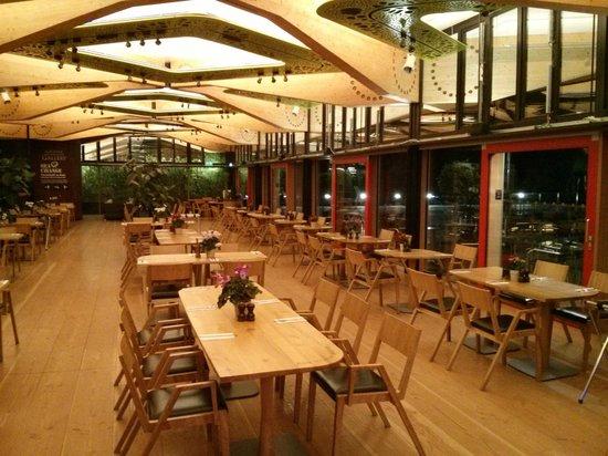The Gateway Restaurant: The main saloon