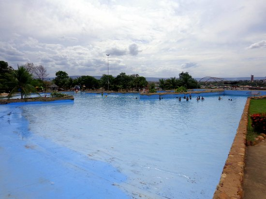 Verdes Vales Lazer Hotel: Parque Aquático anexo ao hotel