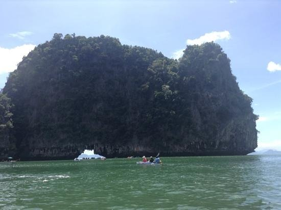 Green Andaman Travel: sea canoeing