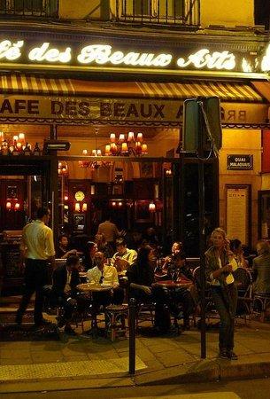 Le Cafe des Beaux Arts, Paris