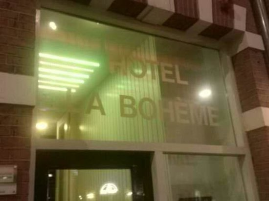 Hotel La Boheme : Easy to find