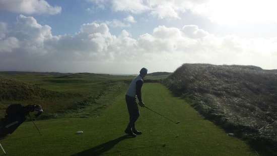 Carne Golf Links: Need a draw here