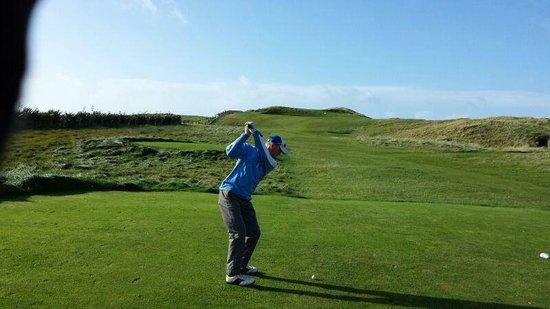 Carne Golf Links : That's some Par 3