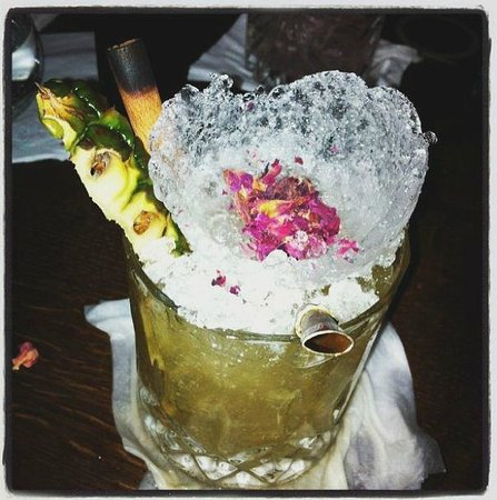 Imperial Craft Cocktail Bar: A menu regular Rum-pinnapple based cocktail