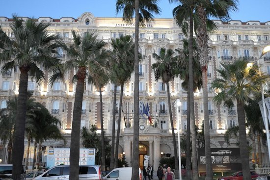 InterContinental Carlton Cannes : Front facade