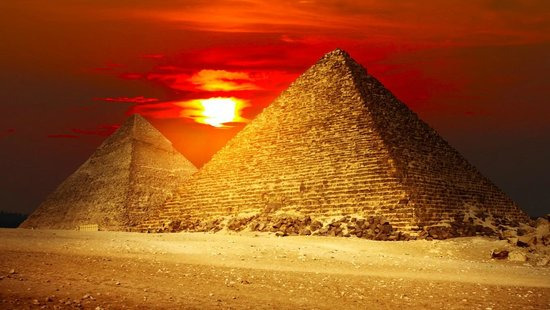 Two Ways Travel: Egypt - The Great Pyramids by Sunset