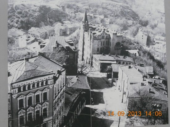 Andriyivski Uzviz: в прошлом веке