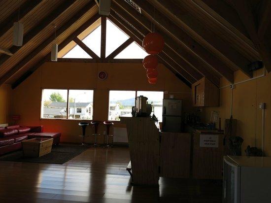 Hostal Lili-Patagonico: Comedor...área dónde se sirve el desayuno...
