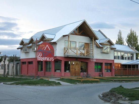 Hostal Lili-Patagonico: Vista de la Casa
