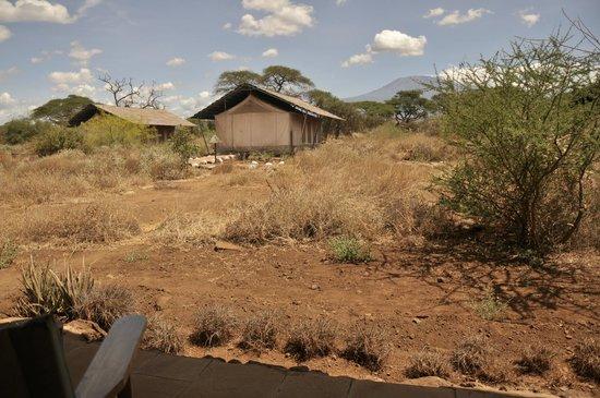 Sentrim Amboseli: Tente