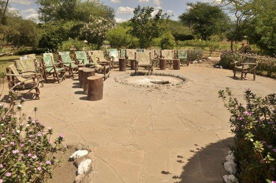 Sentrim Amboseli: Feu de camp