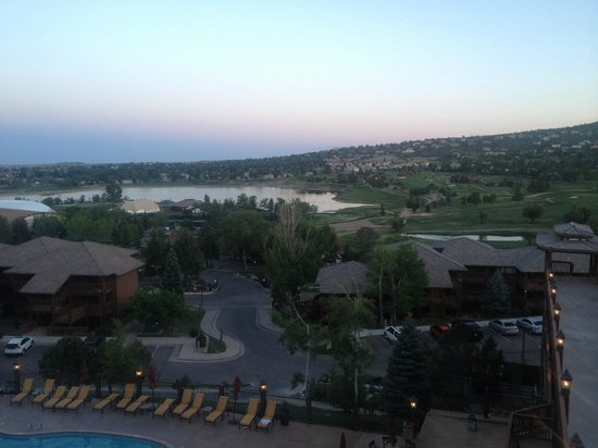 Cheyenne Mountain Resort : Vista do restaurante