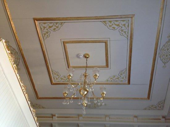 Hayriye Hanim Konagi Hotel : Ceiling details