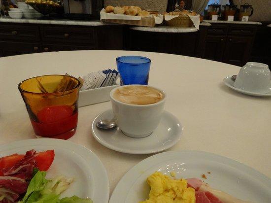Palatino Grand Hotel Rome: 朝食