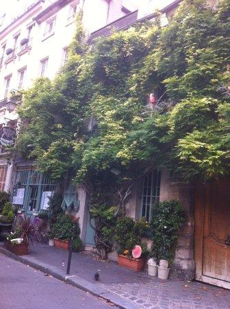 Au Vieux Paris d'Arcole : visto dall'esterno