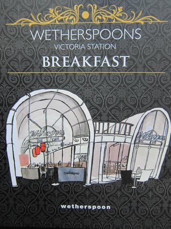 The Ivory Peg: Wetherspoons Victoria Station