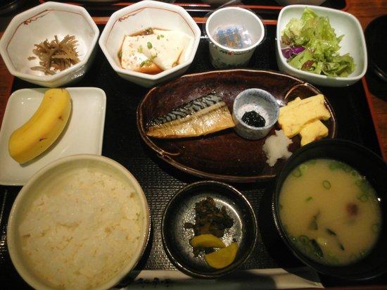 Kumamoto Tokyu REI Hotel: 朝食(和定食)