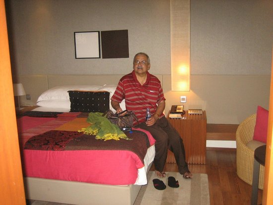 Hyatt Amritsar: the hotel room
