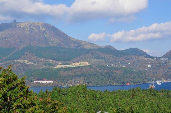 Hakone Pass Tourist Information (Michi-no-Eki): 眺めが最高