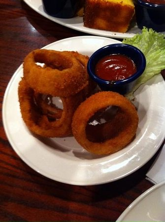 Hard Rock Cafe Copenhagen: onionrings!