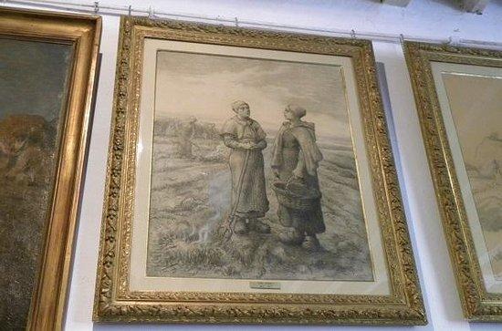 Atelier Jean-François Millet : ミレーのアトリエ内