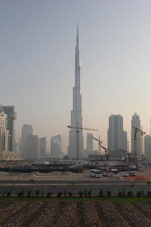 The Oberoi, Dubai: view from lobby