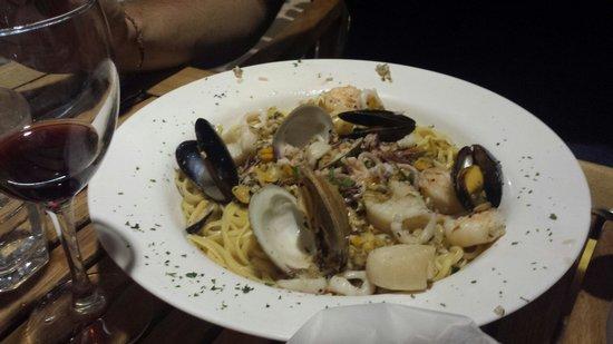 Italian Grill : linguine pescatore