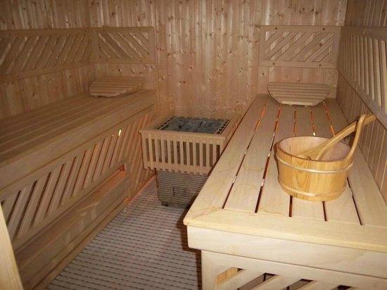 Le Diamant de Zaraba: Sauna