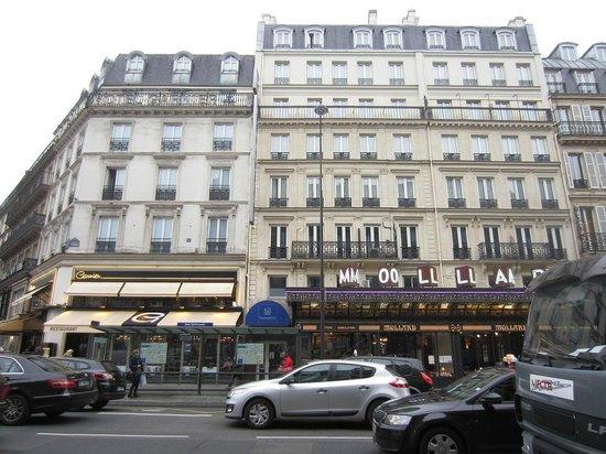 Timhotel Opera Madeleine: vue de la rue