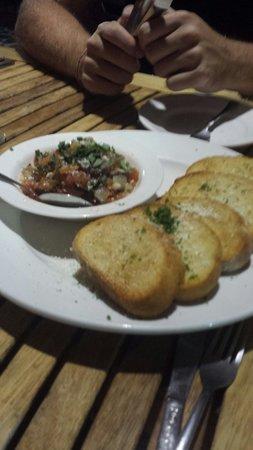 Italian Grill : bruschettas