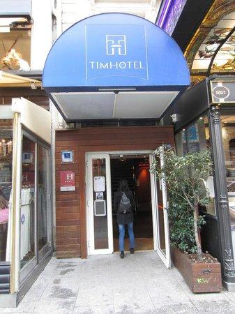 Timhotel Opera Madeleine: entrée hotel
