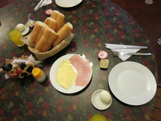 Mami Panchita: Basic breakfast