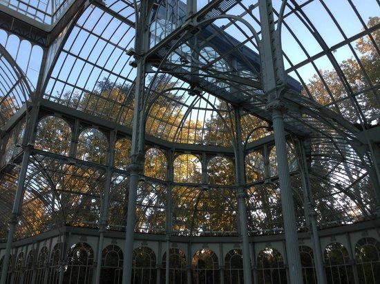 Palacio De Cristal: Inside the cristal Palace