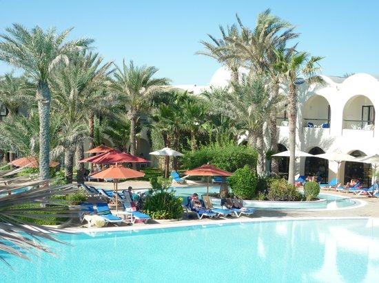 SENTIDO Djerba Beach: poolview
