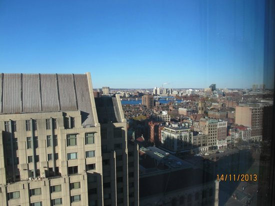 The Westin Copley Place, Boston: View from hotel room