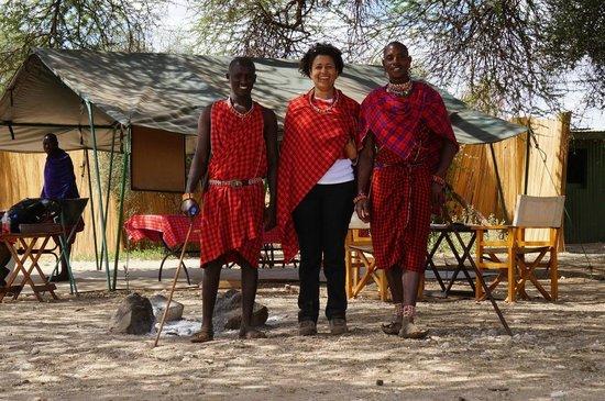 Gamewatchers Adventure Camp, Selenkay : My Maasai friends @ Selenkay Conservancy