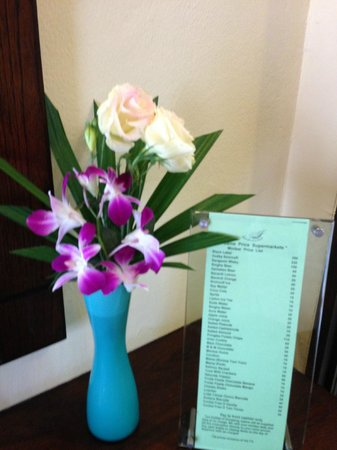 Samui Jasmine Resort: every day in the room and fresh flowers