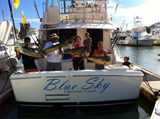 Blue Sky Cabo Fishing and Tours: Blue Sky Cabo Fishing Dock f