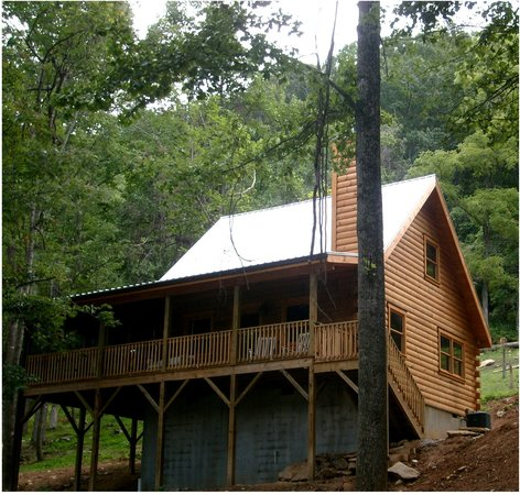 Randall glen resort leicester campground reviews photos for Cheap cabin rentals in asheville nc