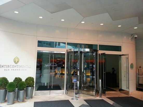 InterContinental San Francisco: Entrance View
