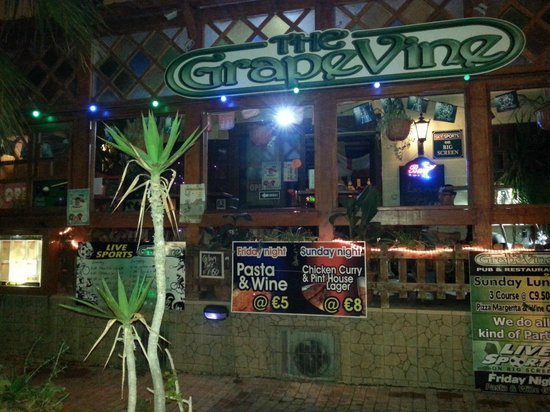 Grapevine Pub: Outside patio