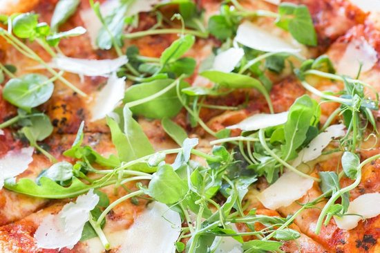 Sea Jacks Restaurant: Creative stone-baked pizzas.