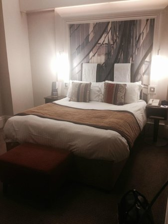 The Midland : The actual bed itself. Faultless! Great nights sleep!