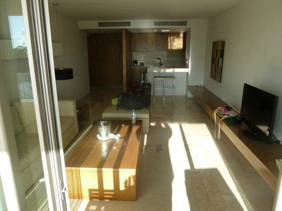 Privilege Aluxes: Suite - Living Room/Kitchen