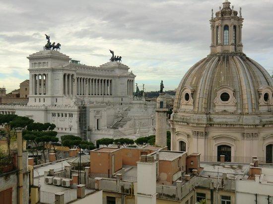 Residenza Torre Colonna: panorama dalla terrazza