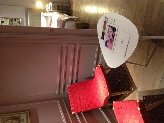 Hotel & Spa La Belle Juliette: salon junior suite